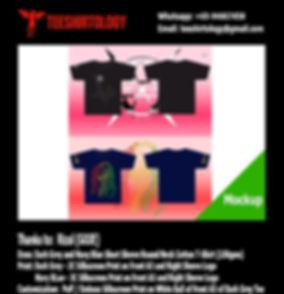 GOJE Brand Silkscreen Printed Cotton T-Shirt