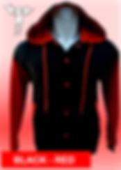 Digital Printing, Silkscreen Printing, Embroidery, Red Black Hooded Baseball Jacket, Red Black Fleece Hooded Varsity Jacket