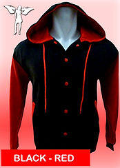Digital Printing, Silkscreen Printing, Embroidery, Red Black Hooded Baseball Jacket, Red Black Fleece Hooded Varsity Jacket