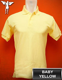 Baby Yellow Polo Shirt, kaos polo kuning baby