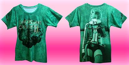 all over print ladies t-shirt, dye sublimation ladies tee, sublimated tee, no minimum quantity