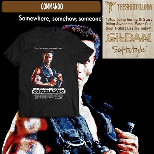 Commando Movie T-Shirt