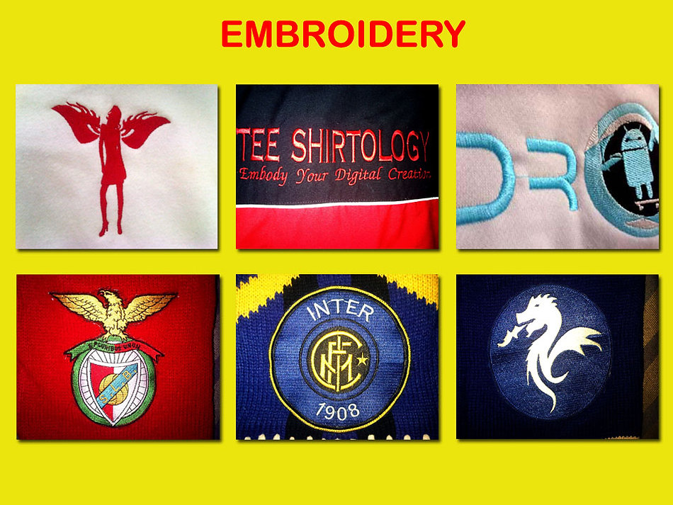 Embroidery Printing, bordir
