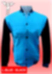 Digital Printing, Silkscreen Printing, Embroidery, Light Blue Black Baseball Jacket, Light Blue Black Fleece Varsity Jacket