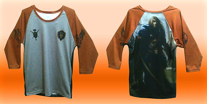 all over print raglan t-shirt, sublimated raglan tee, no minimum quantity, dye sublimation