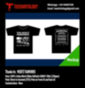 Misfit Ramones Band T-Shirt Black Cotton Gildan Softstyle 63000 T-Shirt DTG Printing