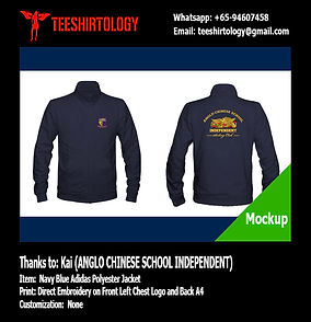 ACS Independent Trainer Jacket Embroidery