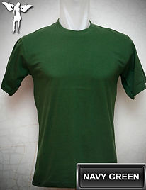Navy Green T-Shirt, kaos hijau navy, navy green round neck t-shirt, navy green crew neck t-shirt