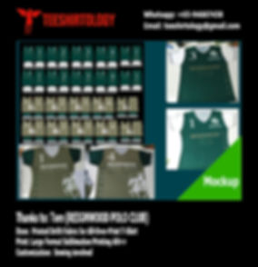 Reignwood Drifit Fabric Printing for All-Over-Print V-Neck Shirt