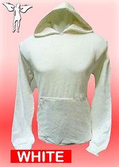 Digital Printing, Silkscreen Printing, Embroidery, White Hoodie, White Fleece Hoodie