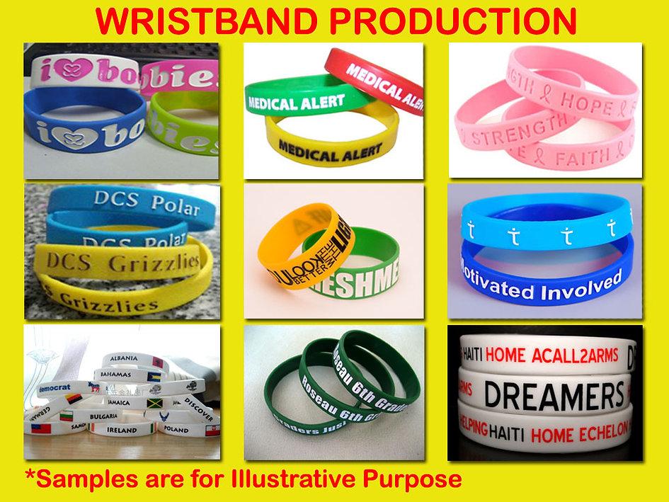 silicone wristband, gelang karet, gelang silicone