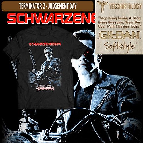 Terminator 2 Judgement Day Movie T-Shirt
