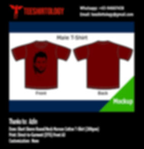 Maroon 5 Band Cotton T-Shirt DTG Print A3