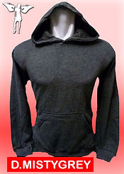 Digital Printing, Silkscreen Printing, Embroidery, Dark Misty Grey Hoodie, Dark Misty Grey Fleece Hoodie