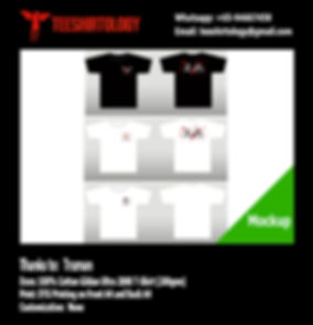DTG Print of Black and Heavy Gildan Ultra Cotton 2000 Shirt
