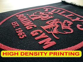 High Density Printing, Sablon High Density, manual print, silkscreen print, t-shirt printing