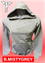 Digital Printing, Silkscreen Printing, Embroidery, Misty Grey Hoodie, Misty Grey Fleece Hoodie