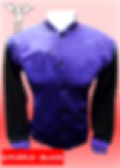 Digital Printing, Silkscreen Printing, Embroidery, Dark Purple Black Baseball Jacket, Dark Purple Black Fleece Varsity Jacket