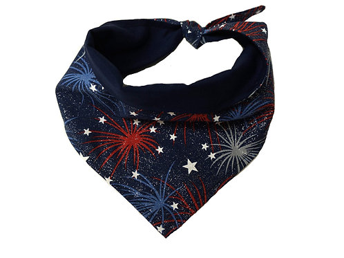Patriotic Dog Bandana for Memorial Day, 4th of July Labor Day