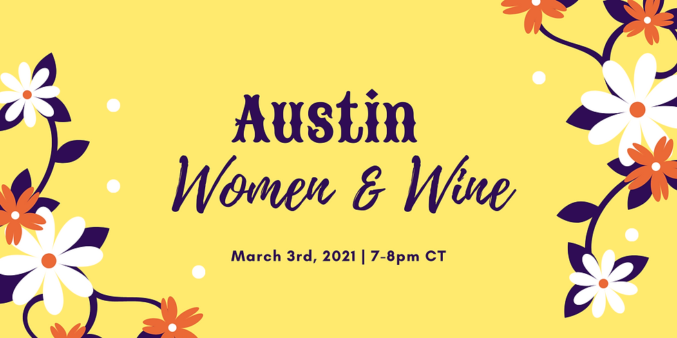 March 3rd Virtual Happy Hour