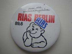 RIAS BUTTON 80er Jahre