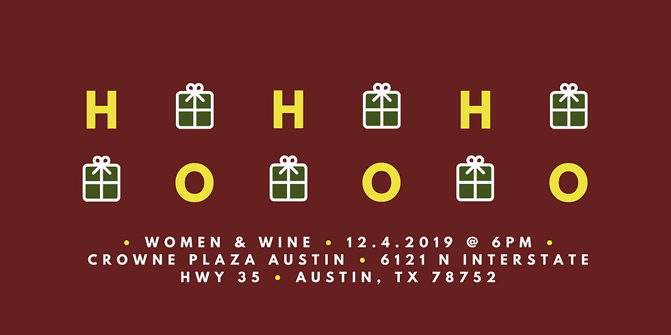 2019 Women & Wine Holiday Party