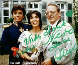 Rex Gildo, Dunja Raijter 198