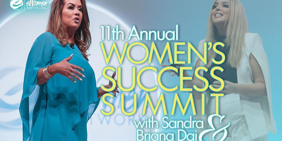 11th Annual Women's Success Summit with Sandra & Briana