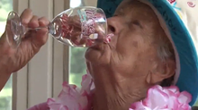 Wine is secret to long life, says 100-year-old woman