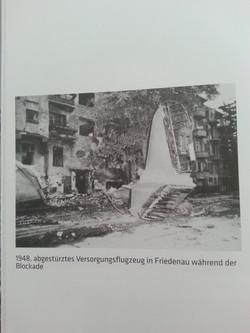 1948 Absturz in Friedenau