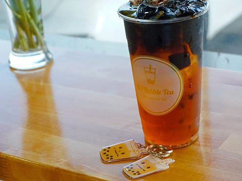 """It's time for tea"" at #Hibubbletea.com."