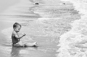 Impromptu beach day
