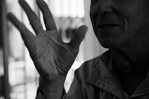 Dad's hands