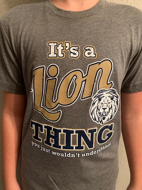 It's a Lion Thing