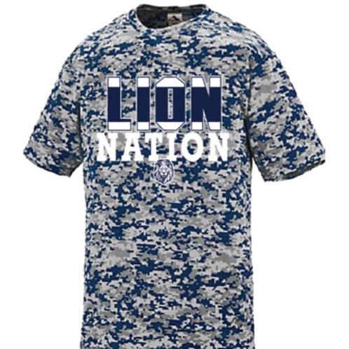 Lion Nation Dri-Fit Short Sleeve