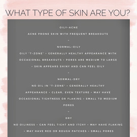 FIND YOUR SKINTYPE