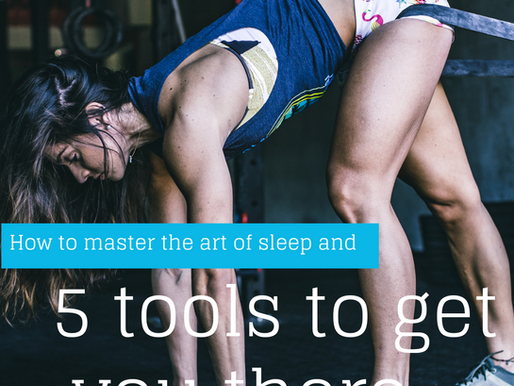 An extensive guide on how to master the art of sleep and 5 tools to get you there.