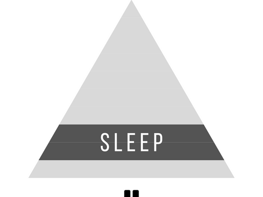 Nothing works until you finally decide to sleep properly.