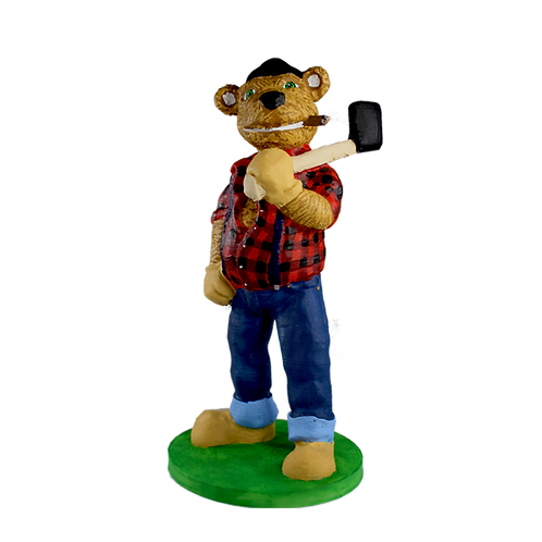 Paul - The Lumberjack Bear