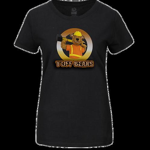 Ben The Construction Bear Ladies T-Shirt