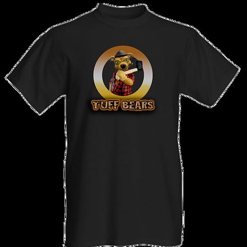 Paul The Lumberjack Bear Mens T-Shirt
