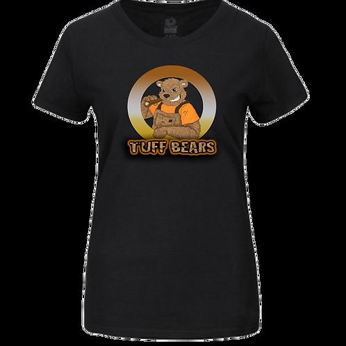 Tuff Bears Logo Ladies T-Shirt