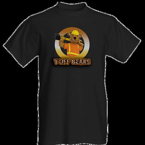 Ben The Construction Bear Mens T-Shirt