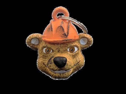 Tex the Oil Rig Bear Keychain