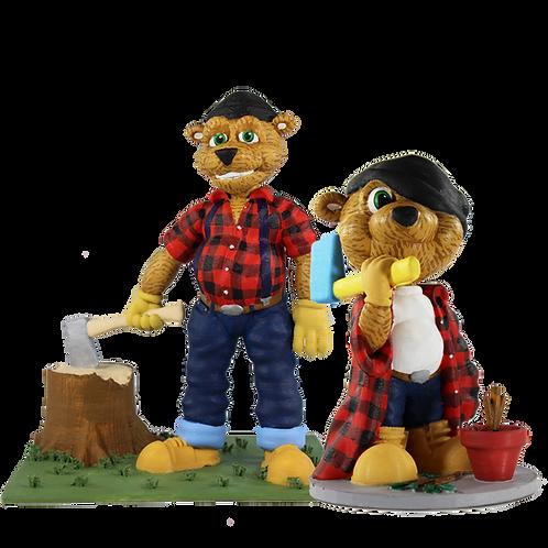 Paul/Paul Jr. Bear and Cub Duo Pack
