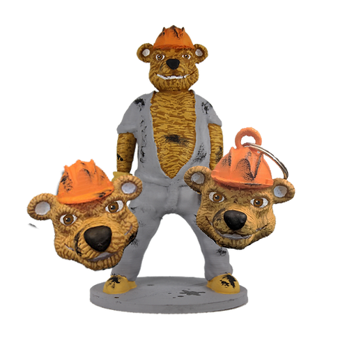 Tex the Oil Rig Bear Collection