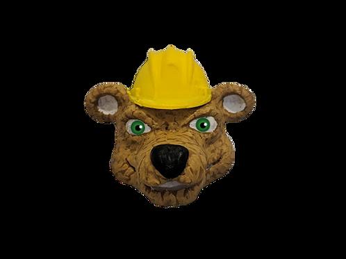 Hank the Construction Bear Fridge Magnet