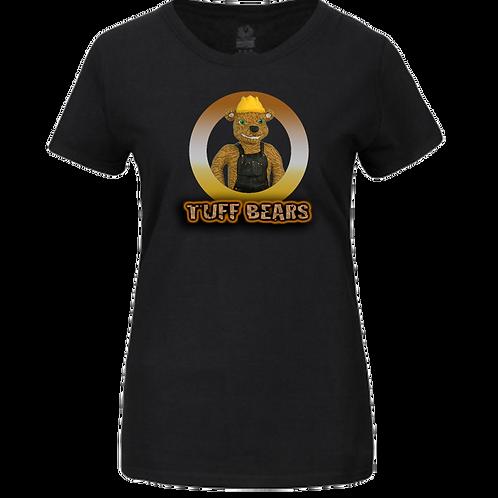 Hank The Construction Bear Ladies T-Shirt