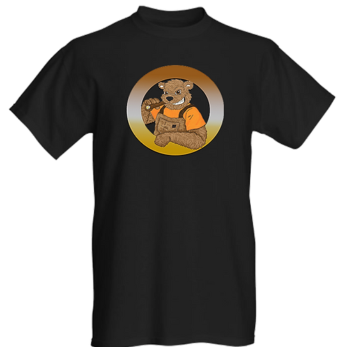 Tuff Bears Logo Mens T-shirt
