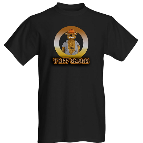 Tex The Oil Rig Bear Mens T-Shirt